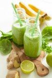 » Ingwer Minz Smoothie mit Zitronengras