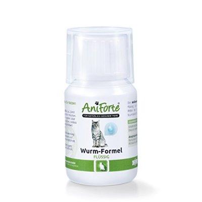 AniForte® Flüssige Wurm-Formel - Naturprodukte für Katzen