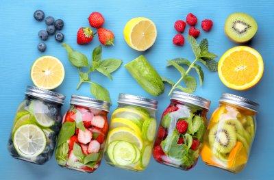 » Detox-Wasser – trink dich gesund!