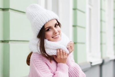 » Winterschal – Modisch eingepackt