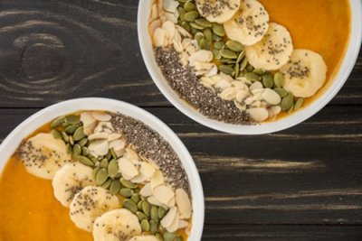 » Herbstliche Smoothie Bowl