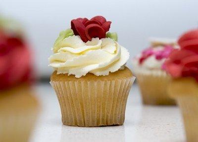 » Vanille Cupcakes – vegan, glutenfrei und fruktosearm