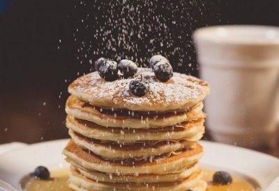 » Blaubeer-Zitronen-Pfannkuchen