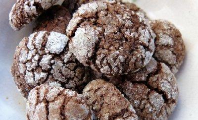 » Knusprige Kakao-Plätzchen
