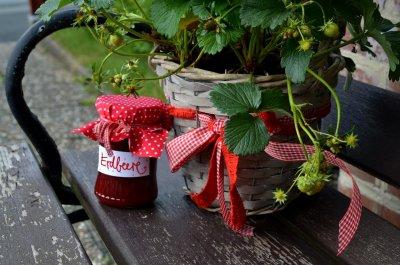 Erdbeermarmelade Rezept zum selber machen - Marmelade kochen
