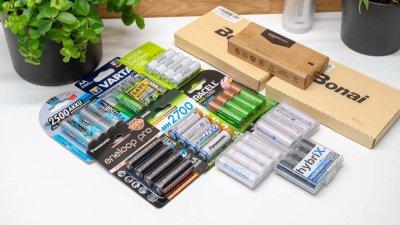 12x AA Akkus von Eneloop, Ikea, Amazon, ANSMANN,…. im Vergleich, welcher ist der beste AA Akku? UPDATE2!   Techtest