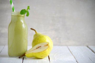 » Avocado Birnen Smoothie mit Radieschen