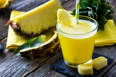 » Ananas Wirsing Apfel Smoothie