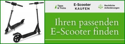 E-Scooter kaufen: News, Angebote & Vergleiche / E-Scooter Ratgeber