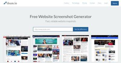 Thum.io | Schnelle Echtzeit Website Screenshot API
