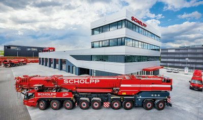 SCHOLPP Kran & Transport GmbH - Autokrane, Ladekrane