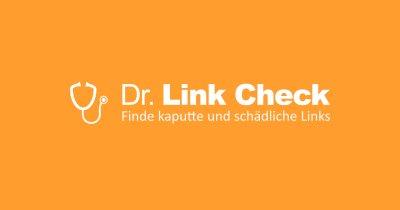 Link-Checker zum Aufspüren kaputter Links – Dr. Link Check
