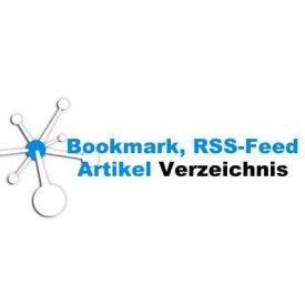 Bookmark, RSS-Feed und Artikel Verzeichnis